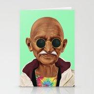 Hipstory -  Mahatma Gand… Stationery Cards