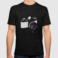 Through The Lens Mens Fitted Tee Tri-Black SMALL