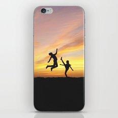 Pumped Up Kicks iPhone & iPod Skin