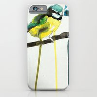 iPhone & iPod Case featuring Blue Tit by Dillon Brannick