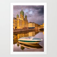 Church of the Holy Isidorovskaya  Art Print