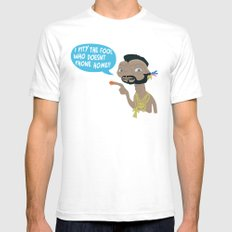 Mr. E.T.  White SMALL Mens Fitted Tee