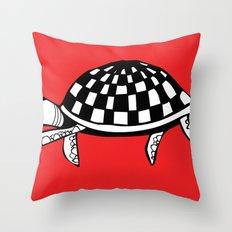 Checkershell Throw Pillow
