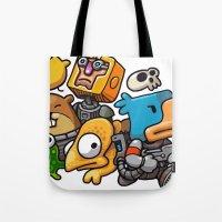 Heroes of Photonstorm Tote Bag