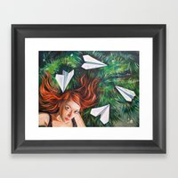 Summer Grass. Tuzello's … Framed Art Print