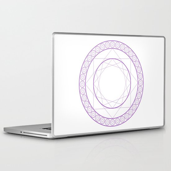 Anime Magic Circle 2 Laptop & iPad Skin