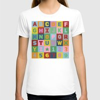 alphabet T-shirts featuring Alphabet by Project M
