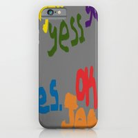 iPhone & iPod Case featuring The Many Yeses by AUZZLE