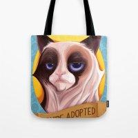 Grumpy Cat Tote Bag