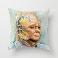Neelix Star Trek Waterco… Throw Pillow