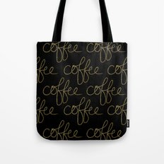 Coffee Dots Tote Bag