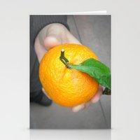 california orange Stationery Cards