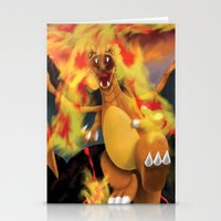 Fire Blast! Stationery Cards