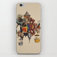 The Bones In The Caves iPhone & iPod Skin