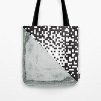 Waves/grid #6 Tote Bag