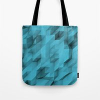 low poly texture Tote Bag
