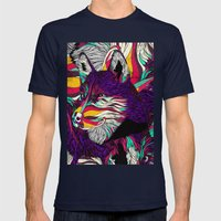 Color Husky (Feat. Bryan Gallardo) Mens Fitted Tee Navy SMALL