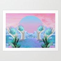 Eden Gates Art Print