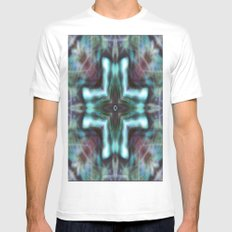 K-Scope SMALL White Mens Fitted Tee