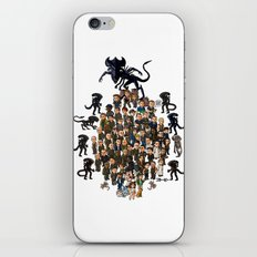 Super Aliens³ Resurrection iPhone & iPod Skin