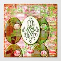 Alice (#TheAccessoriesSeries) Canvas Print