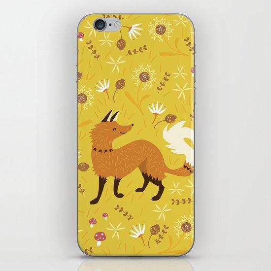 Cute as a Fox iPhone & iPod Skin