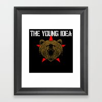 The Young Idea - Grizzly… Framed Art Print