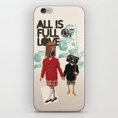 ALL IS FULL OF LOVE iPhone & iPod Skin