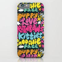 PUPPY LOVE, RAINBOWS, KI… iPhone 6 Slim Case
