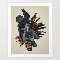 Burn In Self Effigy Art Print