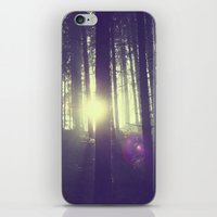 Forrest sun. iPhone & iPod Skin