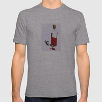 verità Mens Fitted Tee Athletic Grey SMALL