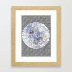 Water Bubble Framed Art Print