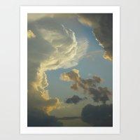 Beauty In The Sky Art Print