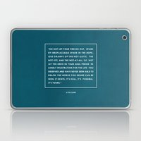 Do Not Let Your Fire Go … Laptop & iPad Skin