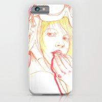 Aviator girl 002 iPhone 6 Slim Case