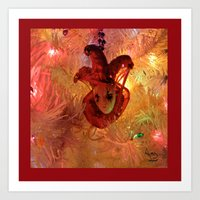 New Orleans Christmas Art Print