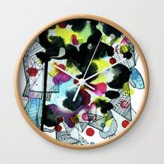 Hanging worlds  Wall Clock