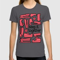 keep it together ii Womens Fitted Tee Asphalt SMALL