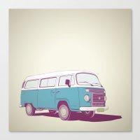 VW Combi v.02 Canvas Print