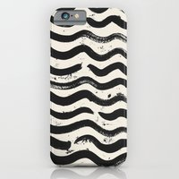 iPhone & iPod Case featuring ONE / Cream by Eva Black