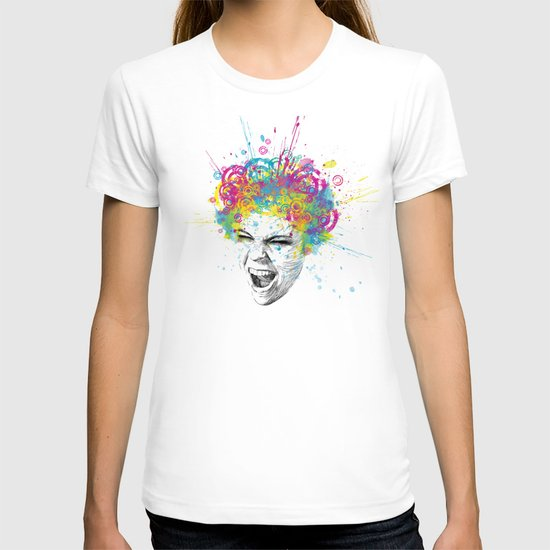 Colorful Scream T-shirt