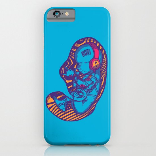 Neon Party Fetus  iPhone & iPod Case