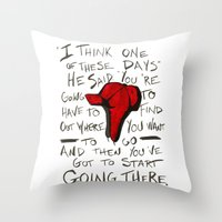 The Catcher In The Rye -… Throw Pillow