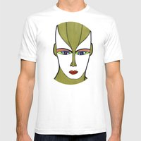Anexia (previous age) Mens Fitted Tee White SMALL