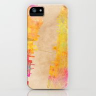New York City Map Colore… iPhone (5, 5s) Slim Case