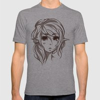 Elven Mens Fitted Tee Athletic Grey SMALL