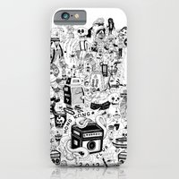 iPhone & iPod Case featuring HONG KONG CLUB by ALVAREZ