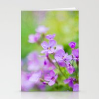 Violet Heaven Stationery Cards