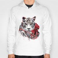 White Tiger Hoody